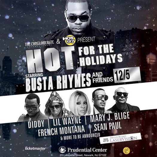 Lil Wayne To Perform Live At Busta Rhymes & Hot 97 Hot For The Holidays Concert In New Jersey
