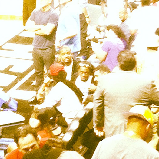 Lil Wayne Told To Leave Miami Heat vs Los Angeles Lakers Game