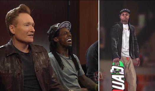 Lil Wayne Tony Hawk Amp Conan O Brien Play Pro Skater 5