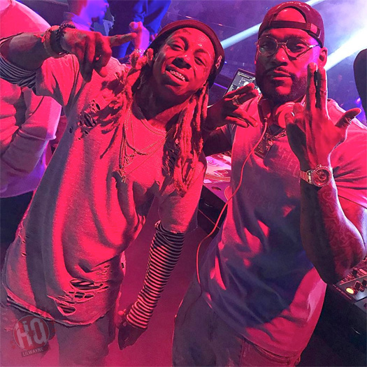 Lil Wayne Earns A Top Rock Song Nomination At The 2017 Billboard Music Awards