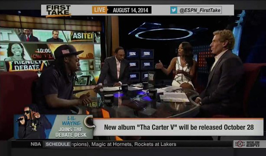 Lil Wayne Discusses The Toronto Raptors Getting Fined For Comments Made By Drake On ESPN First Take
