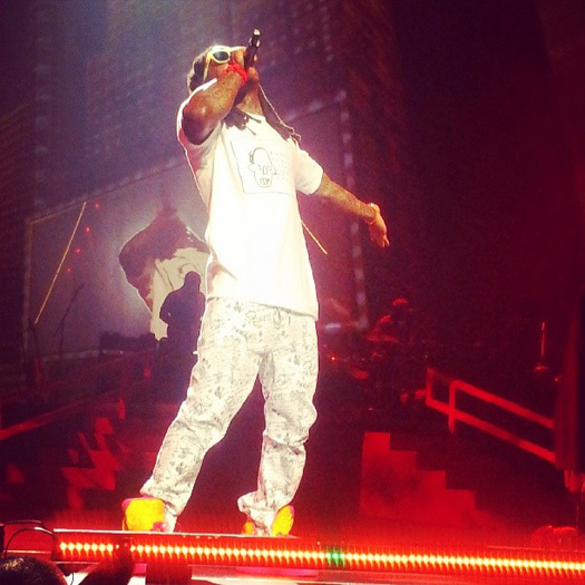 Lil Wayne Performs Live In Toulouse France On His European Tour