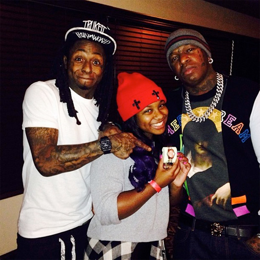 Reginae Carter Explains Why She Is Staying Out Of Lil Wayne & Birdman Beef