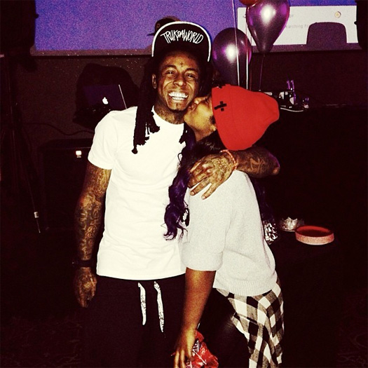 Lil Wayne & Toya Wright Put On A Surprise Birthday Party For Their Daughter Reginae