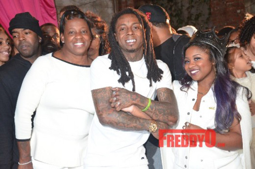 Lil Wayne & Toya Wright Throw A Sweet 16 Birthday Bash For Their Daughter Reginae