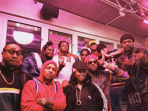 Lil Wayne & Toya Wright Throw A 90s Themed Birthday Bash For Their Daughter Reginae 18th Birthday