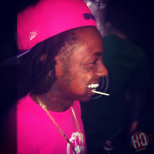 Pictures Of Lil Wayne Celebrating His TRUKFIT Clothing Line In New York City