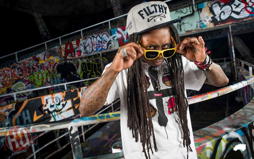 Lil Wayne Photo Shoot With His TRUKFIT Clothing Line
