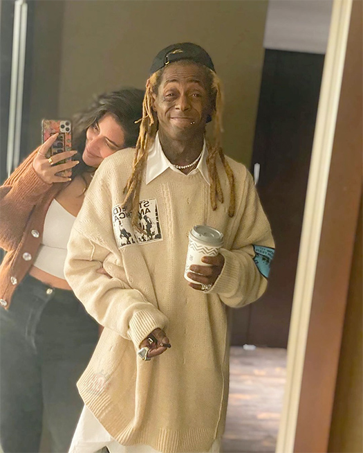 Lil Wayne Signs With United Talent Agency + Hints At Marriage Or Engagement With Denise Bidot