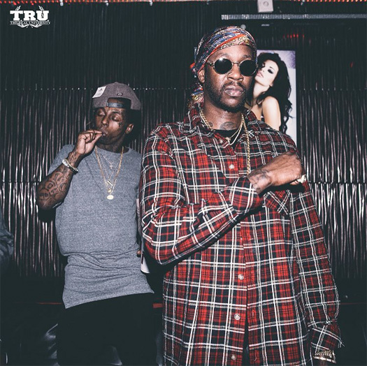 Lil Wayne Attends Vegas Cabaret Gentlemens Club In Florida With 2 Chainz