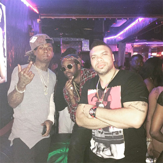 Lil Wayne Attends Vegas Cabaret Gentlemens Club In Florida With 2 Chainz