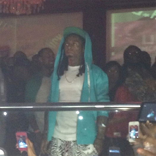 Lil Wayne Attends The Velvet Room In Chamblee Georgia