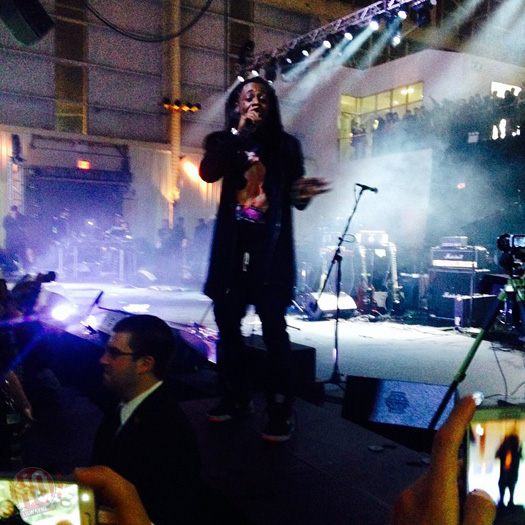 Lil Wayne Performs At VICE 20th Birthday Bash In Brooklyn New York