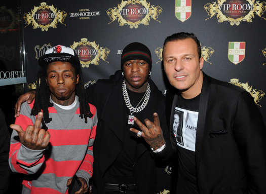 Lil Wayne Attends VIP ROOM In Paris France For His European Tour After-Party