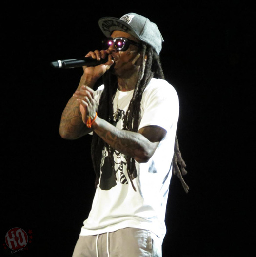 Lil Wayne Performs Live In Virginia Beach On Americas Most Wanted Tour