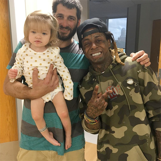 Lil Wayne Visits The Children Hospital Of New Orleans On Boxing Day