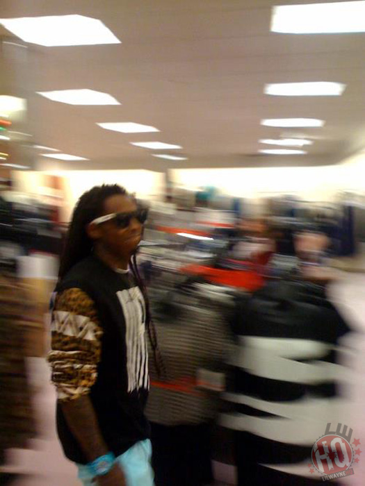 Lil Wayne Visits Dillards Store In Louisville To Promote His TRUKFIT Clothing Line