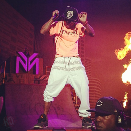 Lil Wayne Performs Live In Wantagh On Americas Most Wanted Tour