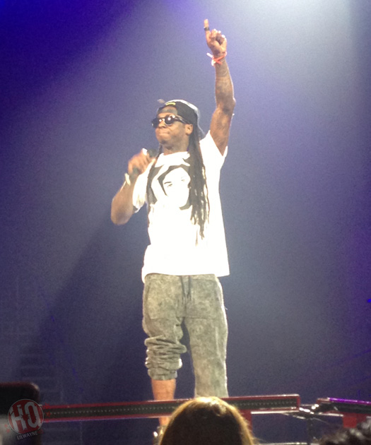 Lil Wayne Performs Live In Washington On Americas Most Wanted Tour