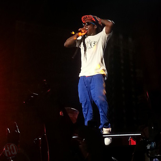Lil Wayne Performs Live In West Palm Beach On Americas Most Wanted Tour