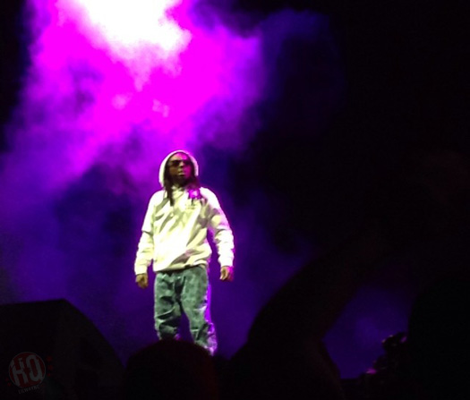 Lil Wayne & Drake Perform Live In West Valley City Utah On Their Joint Tour