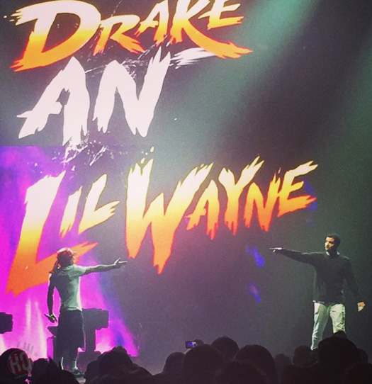 Lil Wayne & Drake Perform Live On The Final Stop Of Their Joint Tour In Houston