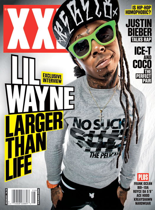 Lil Wayne XXL Magazine July-August 2011 Issue Scans
