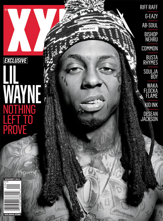 Lil Wayne XXL Magazine August 2014 Scans