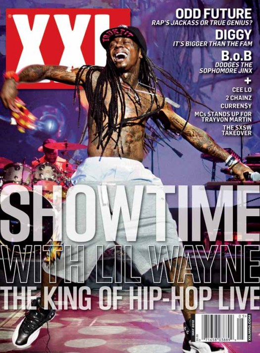 Lil Wayne Covers May 2012 Issue Of XXL Magazine