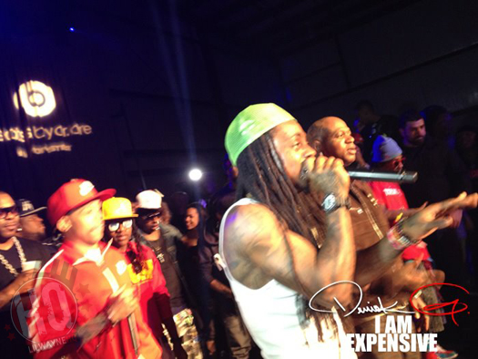 Lil Wayne & YMCMB Party During All-Star Weekend