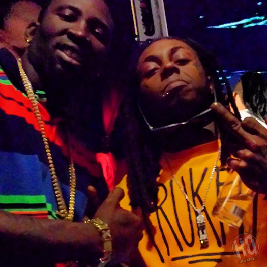 Lil Wayne Attends Yo Gotti Album Release Party At Bamboo Nightclub