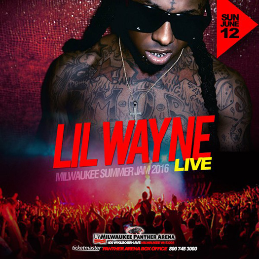 Lil Wayne & Young Jeezy To Perform Live At The Milwaukee Summer Jam In Wisconsin