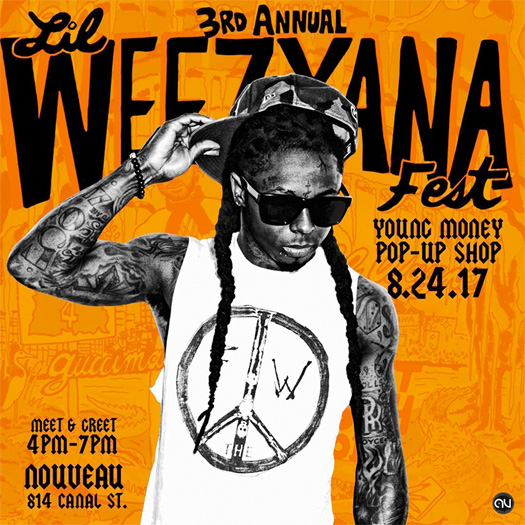 Lil Wayne & Young Money To Host A Pop-Up Shop At Nouveau Clothing Store In New Orleans