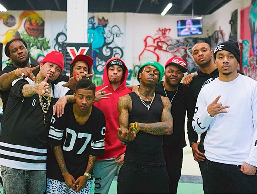 Lil Wayne & His Young Money Artists Have An Interview & Cypher Coming Out