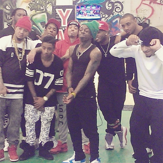 Lil wayne amp his young money artists have an interview amp cypher coming