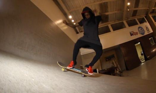 Lil Wayne & YoYo Go Skating At Instaramp Headquarters In Jacksonville