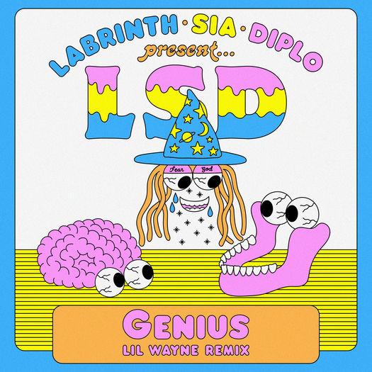 LSD Labrinth, Sia & Diplo Genius Remix Feat Lil Wayne