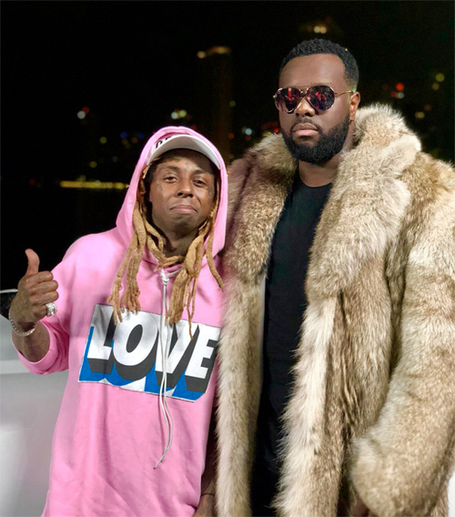 Maitre Gims & Lil Wayne Shoot A Corazon Music Video In Miami