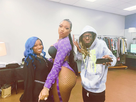 Megan Thee Stallion Discusses Why Lil Wayne Is One Of The GOATs & His Influence On Her Music