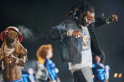 More Behind The Scenes Photos From On Set Of 2 Chainz & Lil Wayne Money Maker Video Shoot