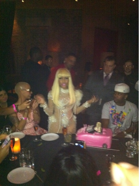 Nicki Minaj Celebrates Her Birthday In Vegas With Lil Wayne & More