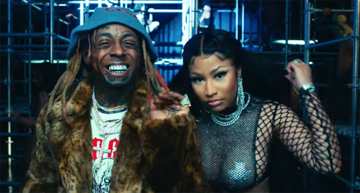 Nicki Minaj & Lil Wayne Good Form Goes Gold