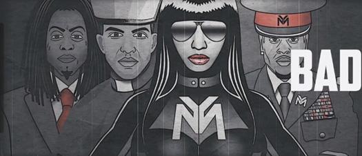 Nicki Minaj, Lil Wayne, Chris Brown & Drake Only Lyric Video