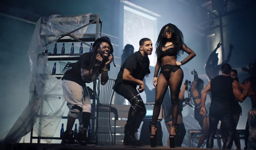 Nicki Minaj Only Feat Lil Wayne, Chris Brown & Drake Music Video
