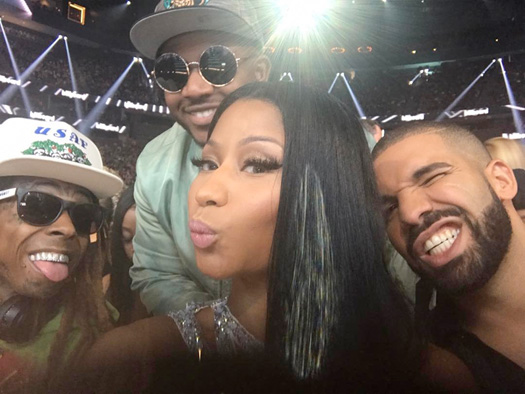 Lil Wayne, Drake & Nicki Minaj Appear On The 2017 Forbes Hip Hop Cash Kings List