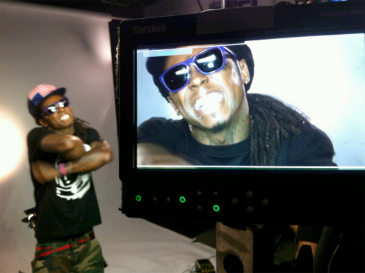 On Set Of NOREs Finito Video Shoot Feat Lil Wayne
