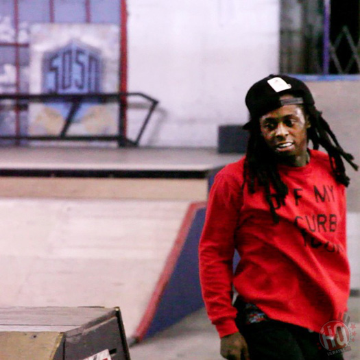 Nu Jerzey Devil Bandana On The Right Side Feat Lil Wayne