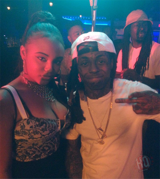 On Set Of 2 Chainz & Lil Wayne MFN Right Video Shoot At King Of Diamonds Strip Club In Miami