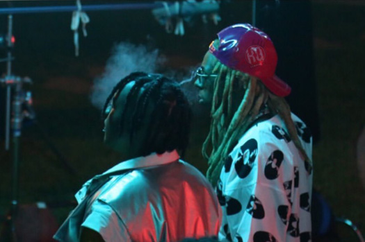 On Set Of Jozzy & Lil Wayne Sucka Free Video Shoot