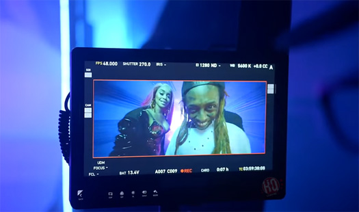 On Set Of Kid Ink, Lil Wayne & Saweetie YUSO + Premiere Date